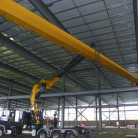 Varsteel Ltd. Long Arm Crane